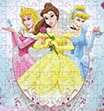 Disney Princess Glitter Puzzle 100 Pieces - One Puzzle - Styles Vary