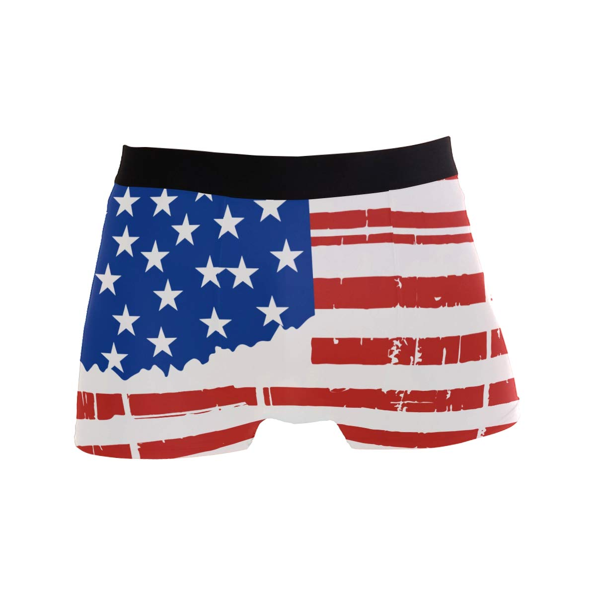 DongDongQiang Oklahoma State USA Flag Mens Boxer Briefs Underwear