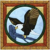 eagle quilt - Quilt Magic 12-Inch by 12-Inch Eagle Kit