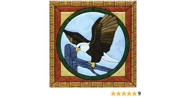 Quilt Magic 12 x 12-inch Eagle Kit
