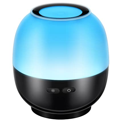 victsing 140ml essential oil diffuser ultrasonic aromatherapy waterless auto shut off and 7 color