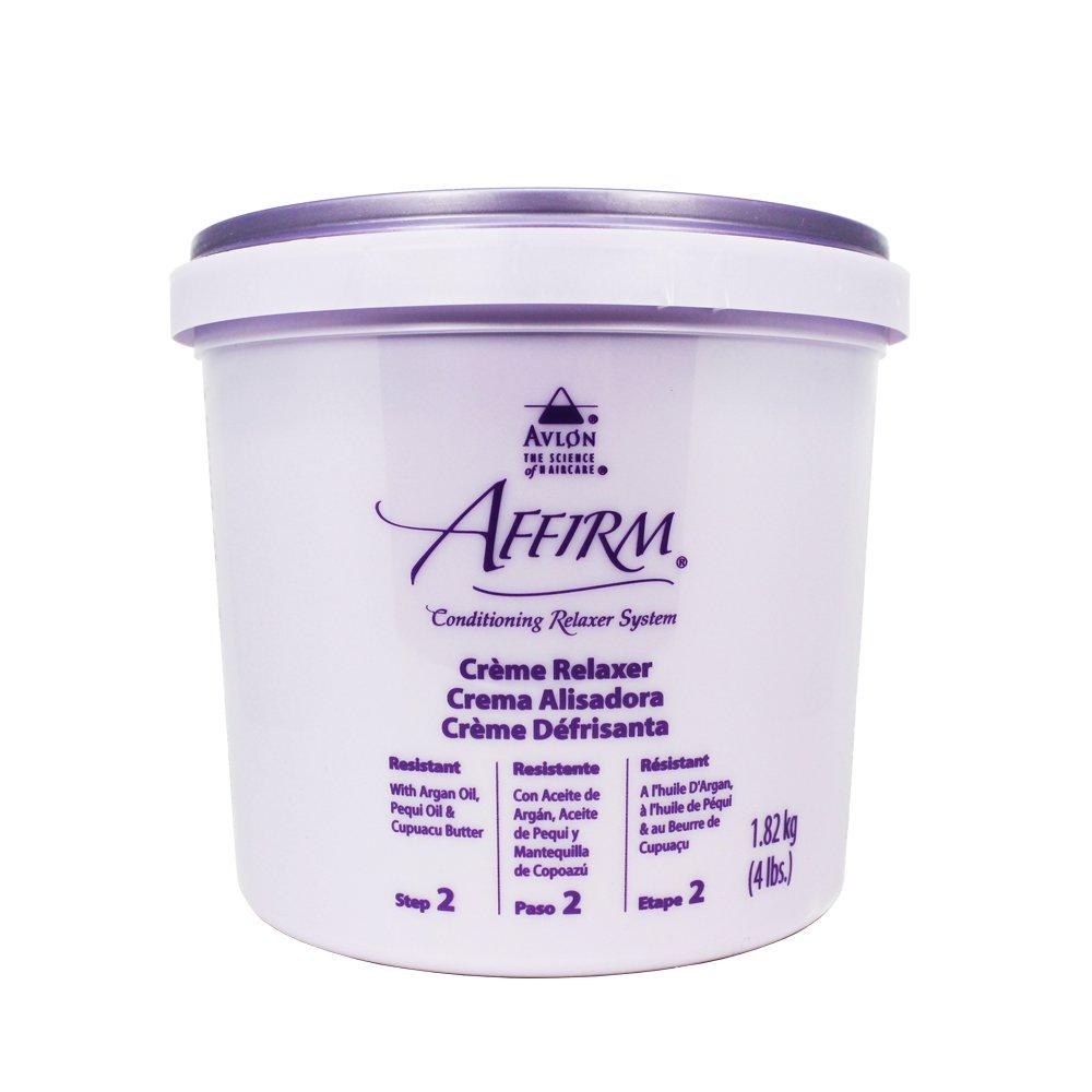 Avlon Affirm Creme Relaxer Original Formula Resistant 4 lb. (1.82 kg)