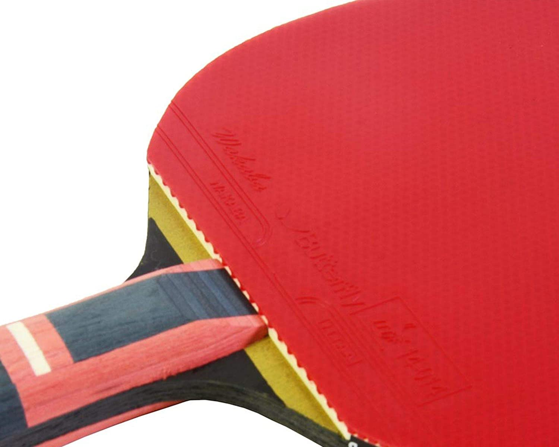 Black//Red Butterfly Zhang Jike Zjx6 Wakaba Table Tennis Bat