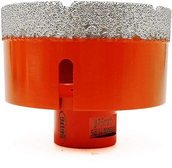 Dry Diamond Core Drill Bits,BGTEC 1pc 3
