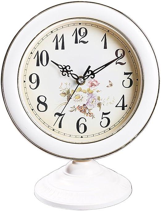 Relojes de chimenea FOOFAY Familiares Reloj de Mesa Estilo Europeo ...