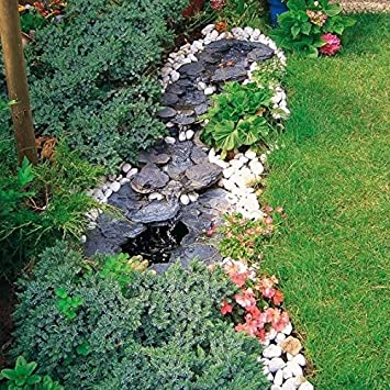 Gartner Potschke Bachlauf Komplett Set Amazon De Garten