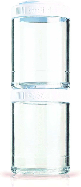 BlenderBottle C00359 GO STAK BLENDER BOTTLE, 150cc, White