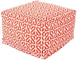 Best Outdoor Ottomans - Majestic Home Goods Aruba Ottoman, Large, Orange Review