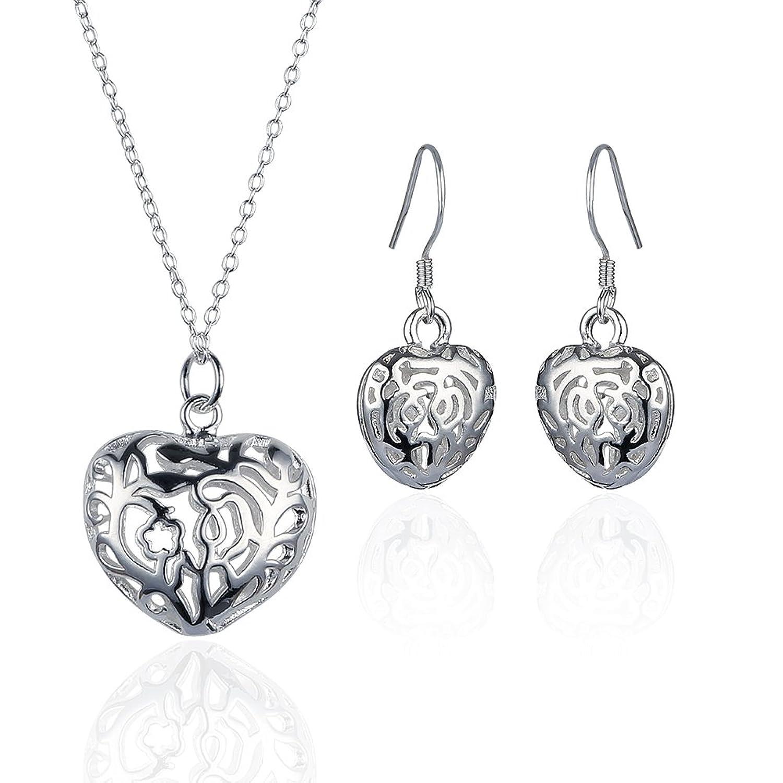 "Aurora Tears Birthstone Created-Topaz Pendant Necklace for Women 17.7/"" Chain"