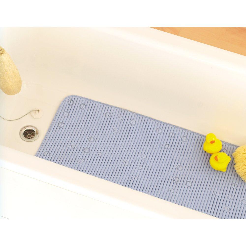 pvc bath mat in blue amazoncouk kitchen  home -