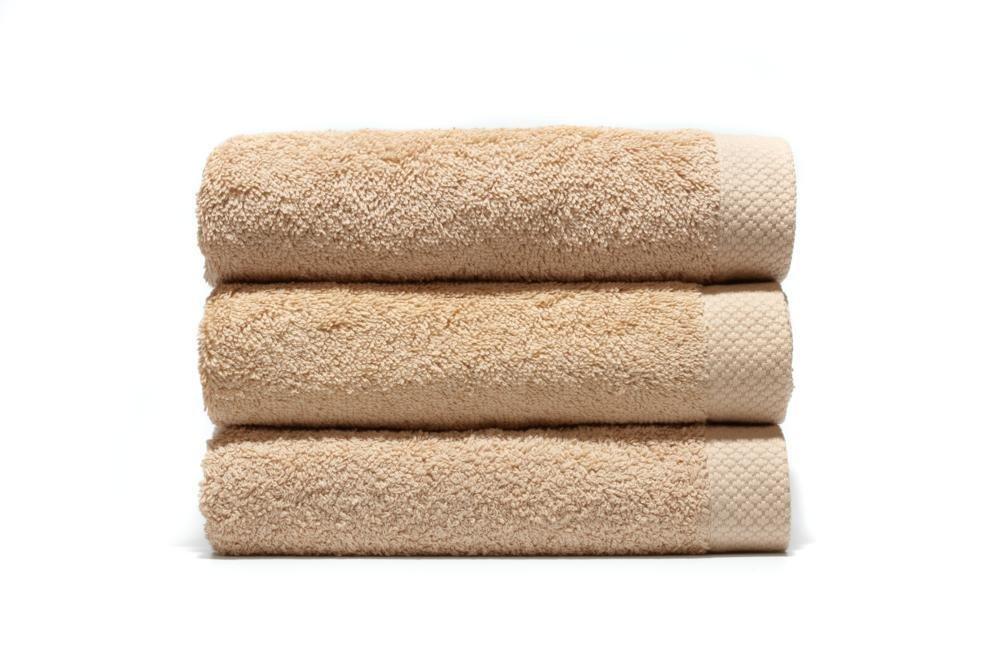 Lasa Pure - Juego de 3 toallas para tocador, 33 x 50 cm, lavabo, 50 x 100 cm y ducha, 70 x 140 cm, color visón: Amazon.es: Hogar