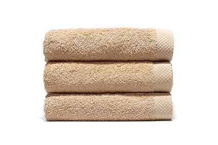 Lasa Pure - Juego de 3 toallas para tocador, 33 x 50 cm, lavabo