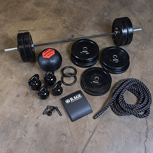 Xtreme Fit Package with 320 lb. Bumper Set, Bar, Accessories by Body-Solid