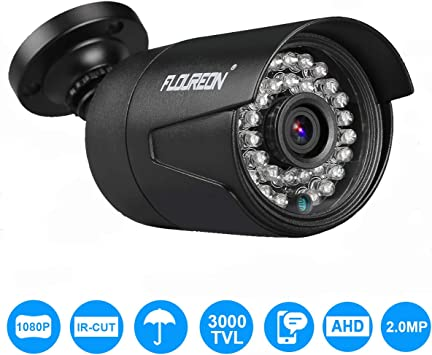 CCTV AHD Camera 2.0MP 1080P Waterproof Outdoor Camera 6 leds IRCut Night Vision
