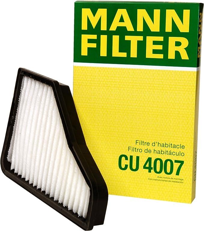 Pack of 2 Mann-Filter CU 3461 Cabin Filter for select Mercedes-Benz models