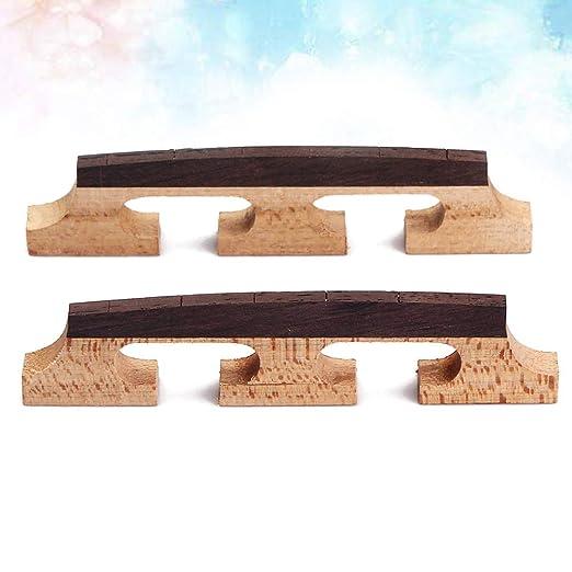 HEALLILY 2 piezas Banjo Bridge para reemplazo de partes de ...