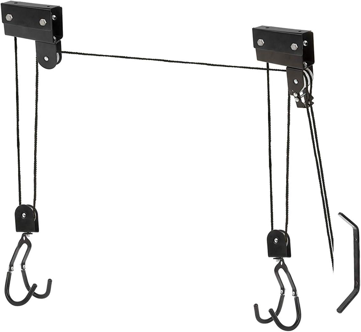 P4B - Elevador de bicicleta XXL Strong (hasta 57 kg), color negro