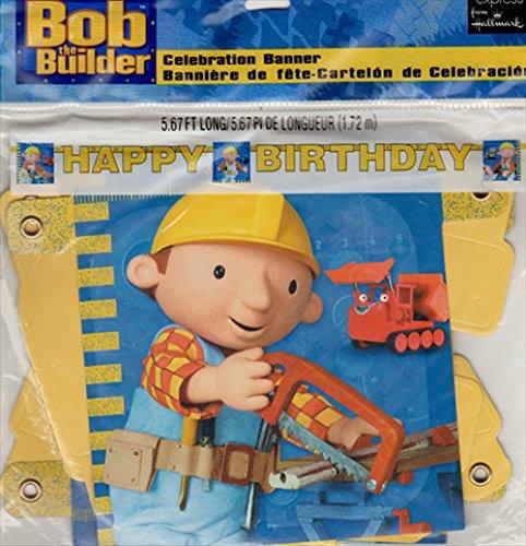 Bob the Builder Happy Birthday Banner (1ct)