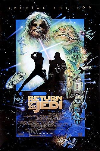 "PremiumPrints - Star Wars Episode VI Return of The Jedi Movie Poster - XFIL327 (Premium Decal 11"" x 17"" (28 cm x 43 cm))"