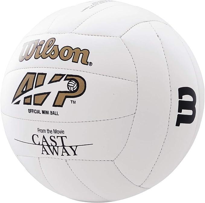 Wilson WTH4115XDEF Pelota de Voleibol Castaway Mini Mr Cuero ...