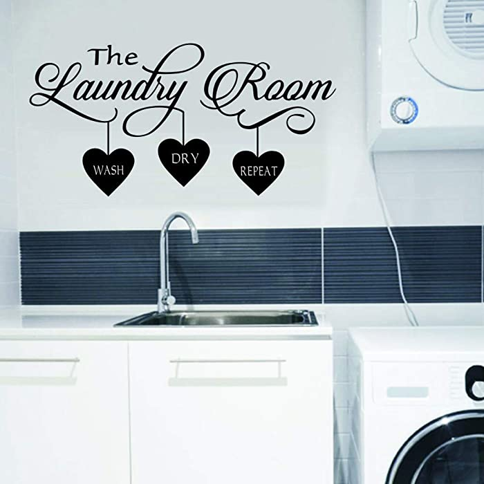 Top 10 Wall Decor Peel And Stick Laundry Room