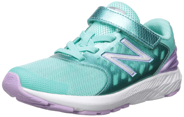 New Balance Girls' Urge V2 FuelCore Running Shoe, Tidepool/Dark Violet, 9 W US Toddler by New Balance
