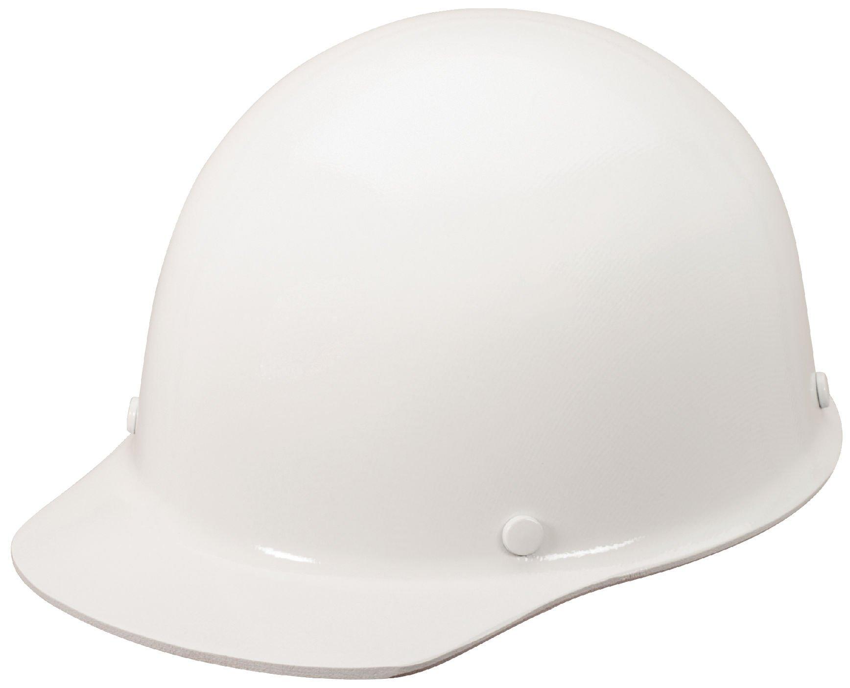 MSA Safety 10119699 Skullgard Protective Cap with Ratchet, Type B, Large Size, Strobe White