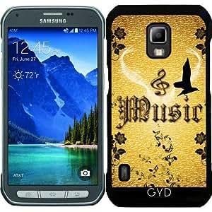 Funda para Samsung Galaxy S5 Active - Música, Clef by nicky2342