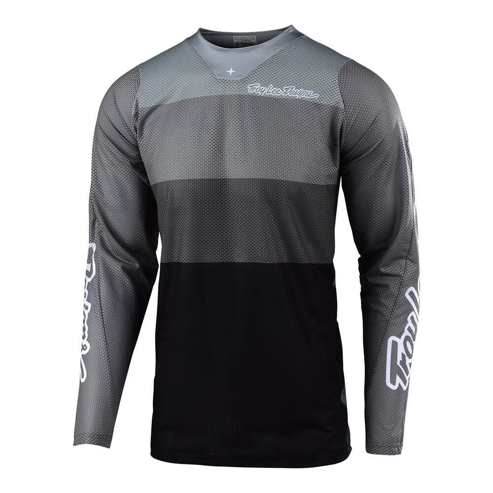 Troy Lee Designs Mens | Offroad | Motocross | SE Air Beta Jersey (X-Large, Gray)