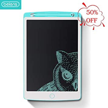 Portable Reusable Erasable writer Portable 3 Pcs 8.5 Inch LCD Tablet Cartoon Electronic Drawing Board Early Childhood Education Doodle Drawing Board for Digital Handwriting Pad Doodle Board for Schoo