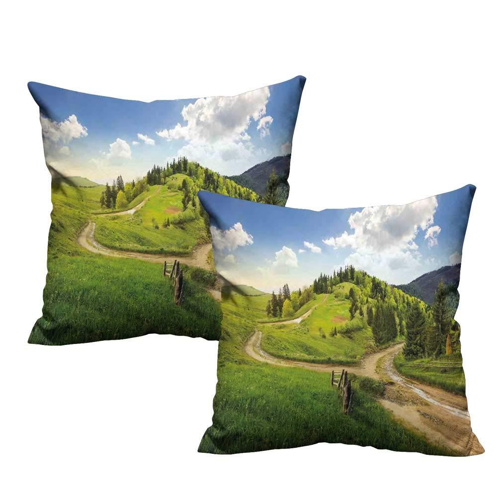 Amazon.com: Funda de almohada de paisaje, temporada de otoño ...