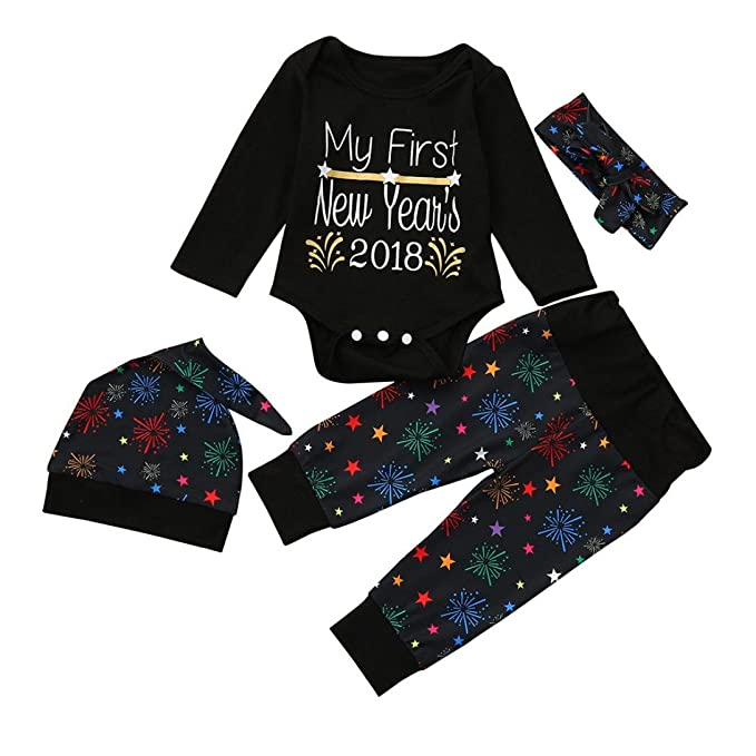 Conjuntos de bebé,Internet Bebés Recién Nacido Niñas Trajes Ropa Impresión Mameluco + Pantalones +