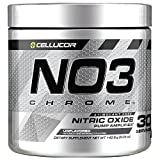 Cellucor NO3 Chrome Powder Nitric Oxide Pump Amplifier, Pre Workout Powder, Unflavored, 30 Servings