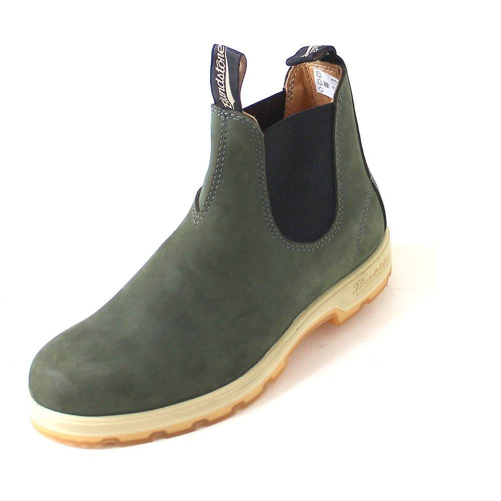 Blundstone - Náuticos de Piel para hombre verde verde 46 EU|Verde