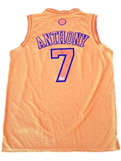 sports shoes 0bc0a 4a3d0 Carmelo Anthony (Mint) Signed Nuggets Jersey (Framed ...