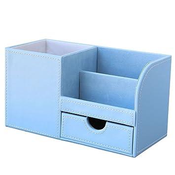 Kingfom Buro Schreibtisch Organizer Ordnungssystem 4 Speicherabteil