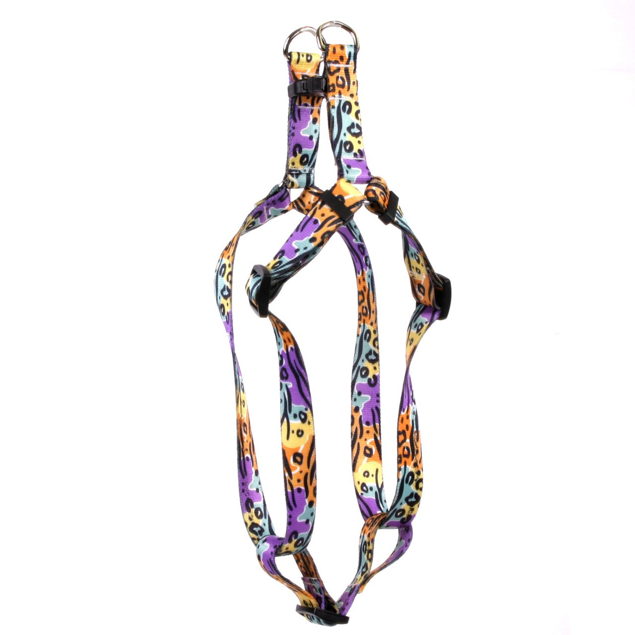 Yellow Dog Design Safari Step-In Dog Harness, Large-1'' Wide and fits Chest Circumference of 25 to 40''
