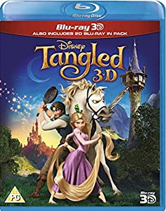 Tangled (Blu-ray 3D + Blu-ray) [Region Free] [UK Import] by Disney