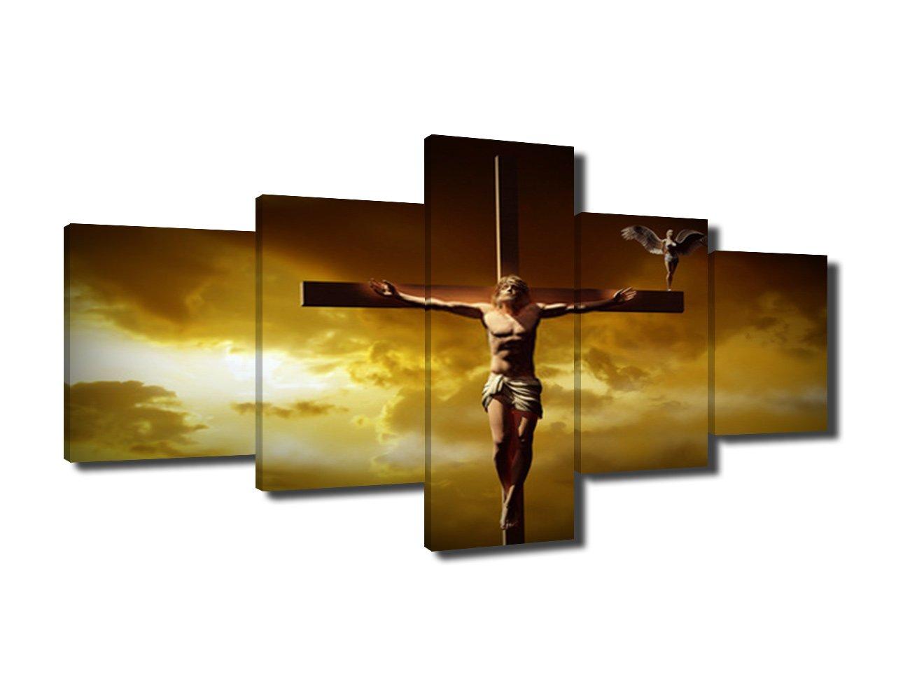 Amazon.com: Wall Decorations for Living Room Jesus of Nazareth(Jesus ...