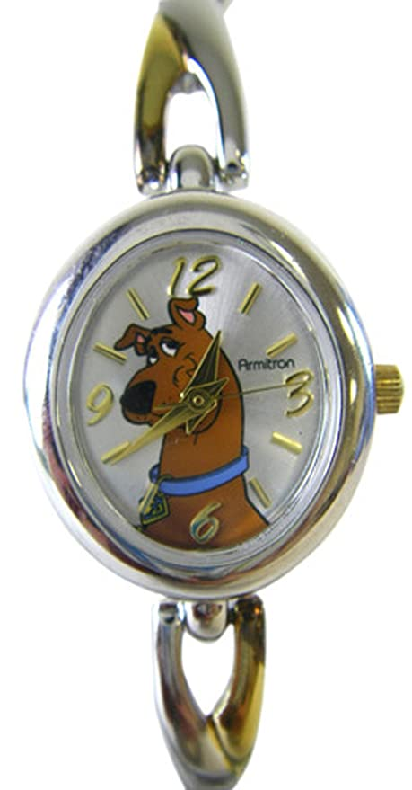 6b4f867480aa Image Unavailable. Image not available for. Color  Warner Bros. Two Tone  Scooby Doo Watch w  ...