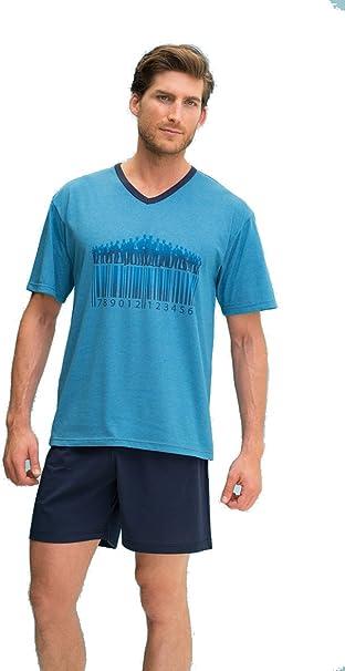 Pijama de verano para hombre Assman (7892) fabricado en España (L): Amazon.es: Ropa y accesorios