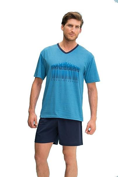 Pijama de verano para hombre Assman (7892) fabricado en España (L)