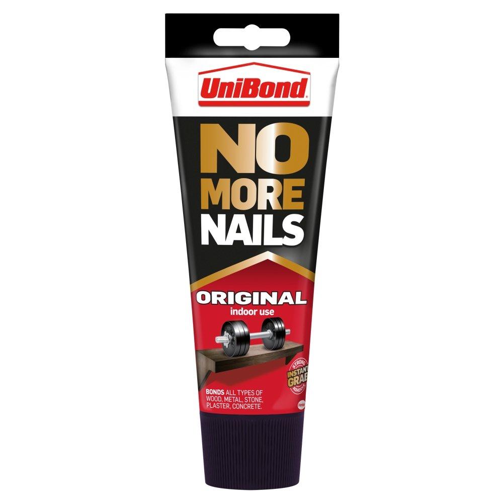UNIBOND Unibond No More Nails High Strength Grab Adhesive / Strong Bond Universal Adhesive For Lasting Results / 1X 200Ml Tube
