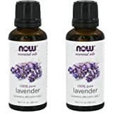 Now Foods Lavender Essential Oil - Twinpack! (2 1oz Ounce Bottles) NOT Organic