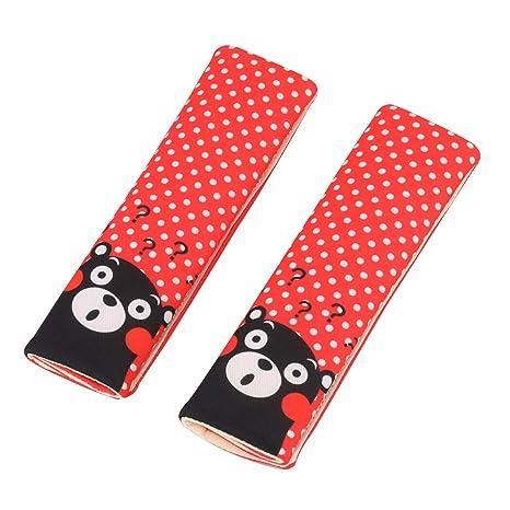 Coussins de ceinture de sécurité Luchild Coussinets de harnais de sécurité 2-PACK  Comfort pour defca9da1ba