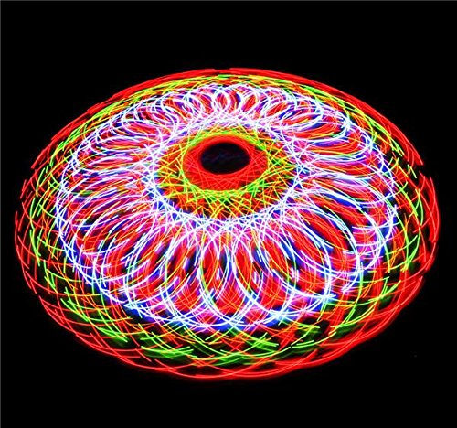 6'' LIGHT-UP DOUBLE-SPINNER FAN, Case of 24 by DollarItemDirect (Image #2)