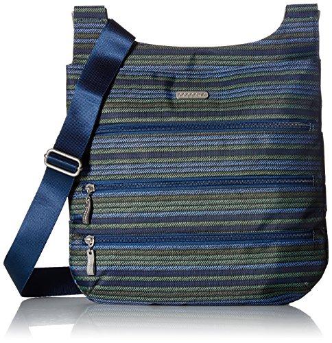 Big Baggallini Moss Zipper Luggage Bag Stripe U1a86