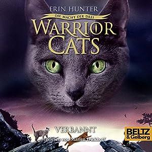 Verbannt (Warrior Cats. Die Macht der Drei 3) Hörbuch