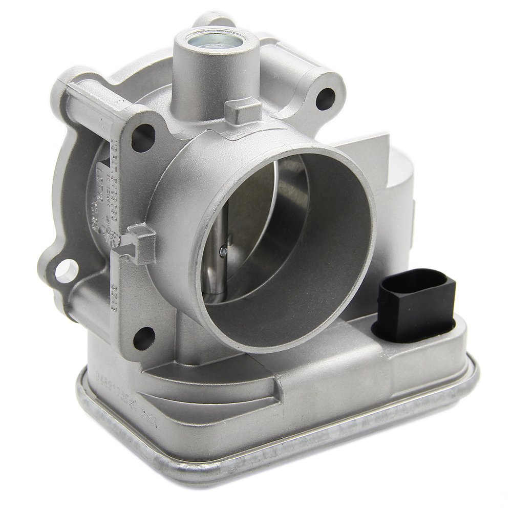 04891735AC Complete Electronic Throttle Body Assembly with IAC TPS for Dodge Avenger Caliber Journey Chrysler 200 Sebring Jeep Cherokee Compass Patriot Replace # 4891735AB 4891735AC 4891735AD 61PVK3gfrwL