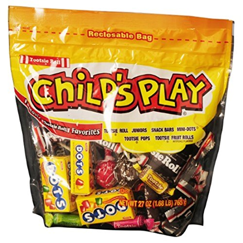 Child's Play Assorted Funtastic Tootsie Roll Favorites, 27 oz Resealable Bag